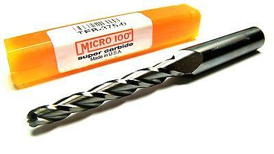 Micro 100 Carbide Taper Ball End Mill 316 30 3fl -2375e052