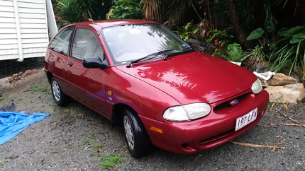 1999 FORD FESTIVA with REGO & RWC 195,000KM manual
