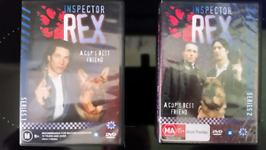 COLLECTABLE  INSPECTOR REX SERIES 1 & 2 A COP'S BEST FRIEND DVD'S Morphett Vale Morphett Vale Area Preview