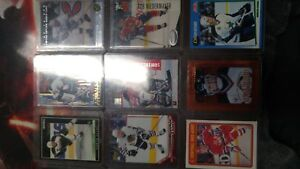 Lots of old hockey cards 2 each or 6 for 10$