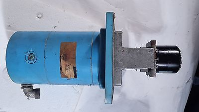 Wells Index Mill Servo Motor Encoder And Tach Encoder-os25-635-505-a13