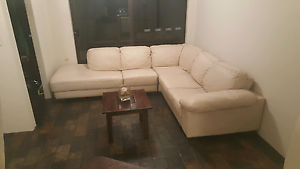 Beautiful genuine leather, corner couch/sofa RRP $5900 Craigie Joondalup Area Preview