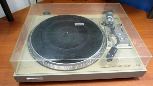 PIONEER PL-516 Stereo Turntable Includes AKG P7E Cartrige X7E Stylus & Grado MC+