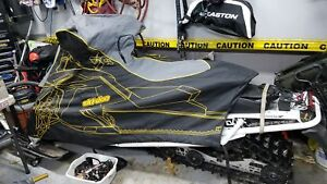 2008 and up Brp Ski doo Mxz or gtx oem snowmobile cover (mint)