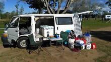 Toyota HIACE Campervan, 235000km, 6 months FREE REGO + Surfboard Brisbane City Brisbane North West Preview