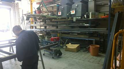 Steel fabrication with plant and equipment Seven Hills Blacktown Area Preview
