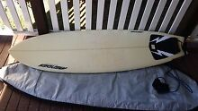 6 ft, Surfboard with foot strap and carry bag Keperra Brisbane North West Preview