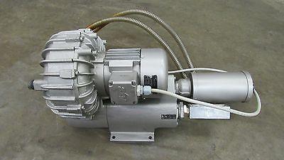 Becker Sv 5.901-01 Regenerative Vacuum Pump Blower 0.44kw 370-530215-310v 3ph