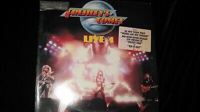 Ace Frehley's Comet Live +1-Kiss-Promo-Atlantic 1988-Record-Album-Vinyl-LP