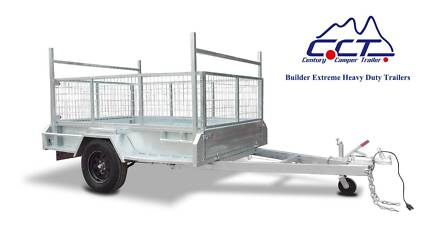 CCT 8×5 Fully Welded 1400KG Heavy Duty Hot Galvanized Box Trailer Salisbury Brisbane South West Preview