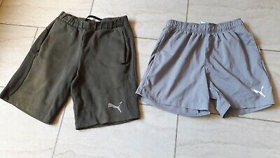mens Puma shorts x 2 pairs size small