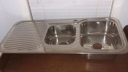 NEW SINKS with Double, 1 & 3/4 or Single bowls McDowall Brisbane North West Preview
