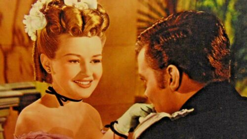 "Betty Grable ~ Original Lobby Card  ~ 14"" x 11""  ~ The Shocking Miss Pilgrim"