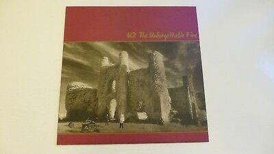 U2. The Unforgettable Fire. Original 1st UK Pressing. 1984. A-4U B-7U NR MINT.