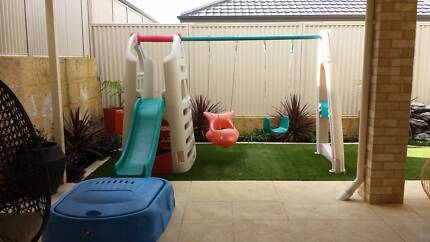 Lerado Swing set with slide cubby house and sandpit Baldivis Rockingham Area Preview