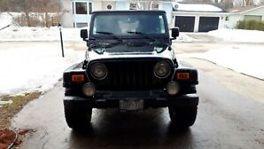2006 Jeep Rubicon TJ Manual Transmission