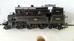 Hornby BR Fowler 2-6-4T in BR Black. 00 gauge.