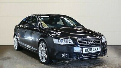 10 AUDI A6  2.0 TDI 170 BHP LE MANS LEATHER,SAT NAV,CLIMATE,LED LIGHTS FABULOUS