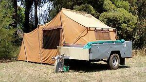 Halls Off-Road Camper Trailer. Off Road Tent Trailer. Shepparton Shepparton City Preview