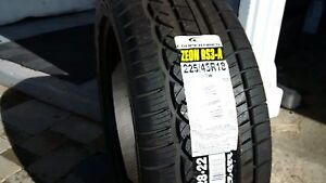 *NEW LOW-PROFILE PERFORMANCE TIRES*225/45R 18
