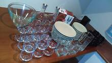 New assortment of plates,cutlery,glasses,cups,bowls,carafes,vases Northcote Darebin Area Preview