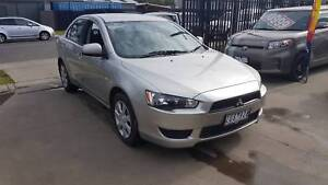 2013 Mitsubishi Lancer ES Sedan AUTO LOW KMS Williamstown North Hobsons Bay Area Preview