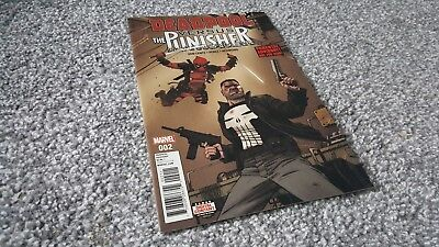 DEADPOOL vs THE PUNISHER #2 of 5 Cvr A (2017) MARVEL MINI-SERIES