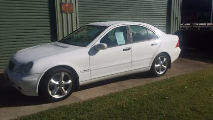 2001 C180 MERCEDES SEDAN. RWC. MAJOR SERVICE DONE. FOUR NEW TYRES