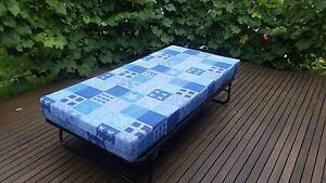 Single bed mattress and Metal frame Beaumaris Bayside Area Preview