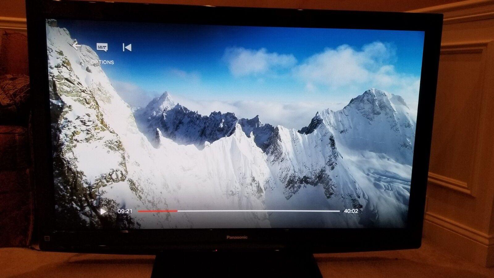 "Panasonic Viera TC-54PS14 54"" 1080p HD Plasma Television Local pickup NJ"