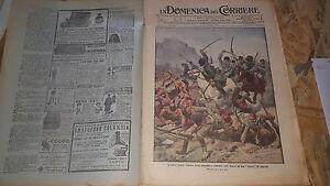 DOMENICA-DEL-CORRIERE-46-1914-GUERRA-TURCHI-COSACCHI-FIANDRE-REGGIMENTO-SCOZIA