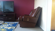 3 Seater Leather Sofas. Footscray Maribyrnong Area Preview