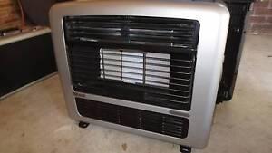 Rinnai Galaxie MkII Gas Heater Silver Cherrybrook Hornsby Area Preview
