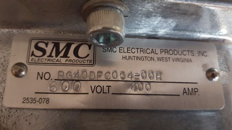 SMC ELECTRICAL PRODUCTS NO.RG40DFC064-00R
