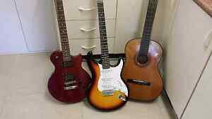 Used guitars Villawood Bankstown Area Preview