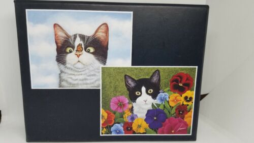 LANG Boxed Note Cards American Cat Artwork by Lowell Herrero
