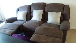 3 seater recliner sofa Black Forest Unley Area Preview