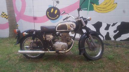 Honda Cd175 1969 Motorcycle