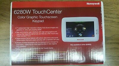 New Honeywell 6280W White Color Touchscreen Keypad Free Expidited Shipping Color Touch Screen Keypad