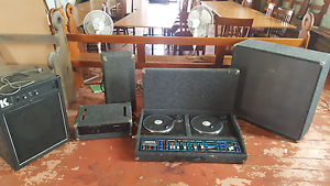 PA system with Turntables Woolloongabba Brisbane South West Preview