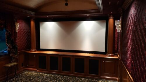 Home Theater Stewart Grayhark Screen