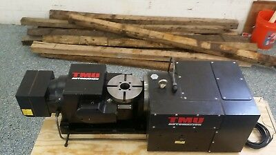 Ganro Used Golden Sun Tmu Rt 5th Axis Trunnion Rotary Table Fanuc Drives Cnc 08