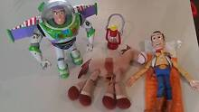 Toy Story toys - Buzz Lightyear, Woody & Bullseye Duncraig Joondalup Area Preview