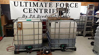 Ultimate Force Pressurized Centrifuge 120v Oil Wvo Biodiesel