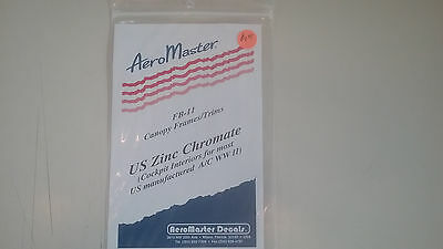 Aero Masters Decals Canopy Frames / Trims US Zinc Chromate
