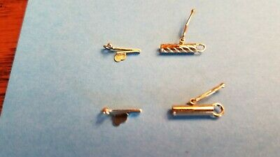 14k Yellow gold barrel clasp to repair chain or necklace -