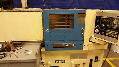 Ikegai Tc25 Cnc Lathe Fanuc Ot Controls