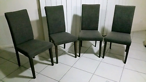Dining chairs...set of four Maroochydore Maroochydore Area Preview
