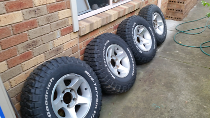 LandCruiser wheels and tyres Berwick