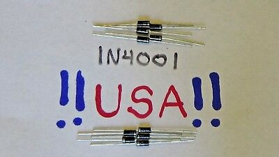 1n4001 Diode 10pcs - 50v - 1a - General Purpose Diode Rectifier - Ships Today